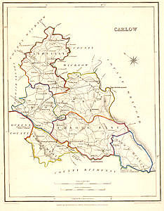 Carlow, click for larger map - allow some time to download