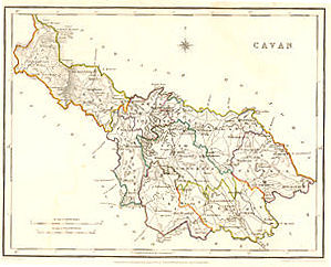 Cavan, click for larger map - allow some time to download