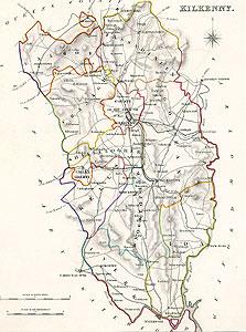 Map Of Ireland Showing Kilkenny.Kilkenny Map Ireland